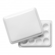 Jackson's : Ceramic Palette : No. 26 3.5 x 4 in. and lid