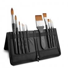 Jackson's : Studio Synthetic Brush Set : Large : Set of 13 Plus Case