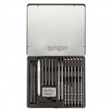 Cretacolor : Black Box Charcoal Drawing Set of 20