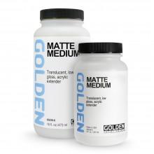 Golden : Matt Medium
