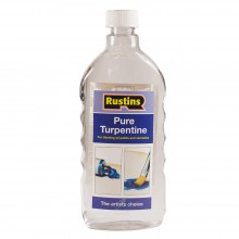 Rustin's : Pure Turpentine for Artists : By Road Parcel Only