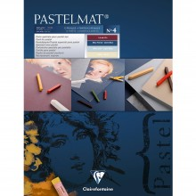 Clairefontaine : Blue Label Pastelmat Pad : 360gsm : 18x24cm