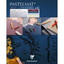 Clairefontaine : Blue Label Pastelmat Pad : 360gsm : 24x30cm