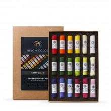 Unison Colour : Soft Pastel : Set of 18 Botanical Colours