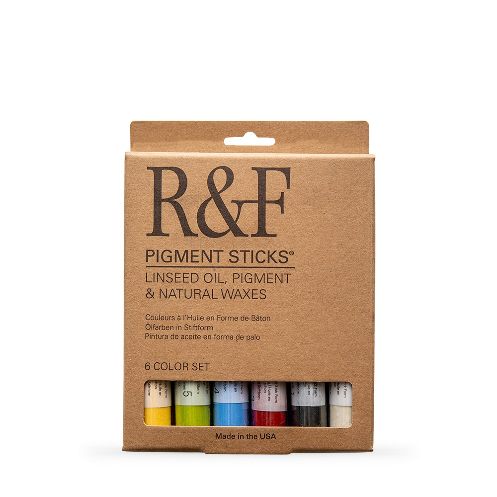 R&F : Pigment Stick Set : 38ml : Introductory Set : 6 Colours