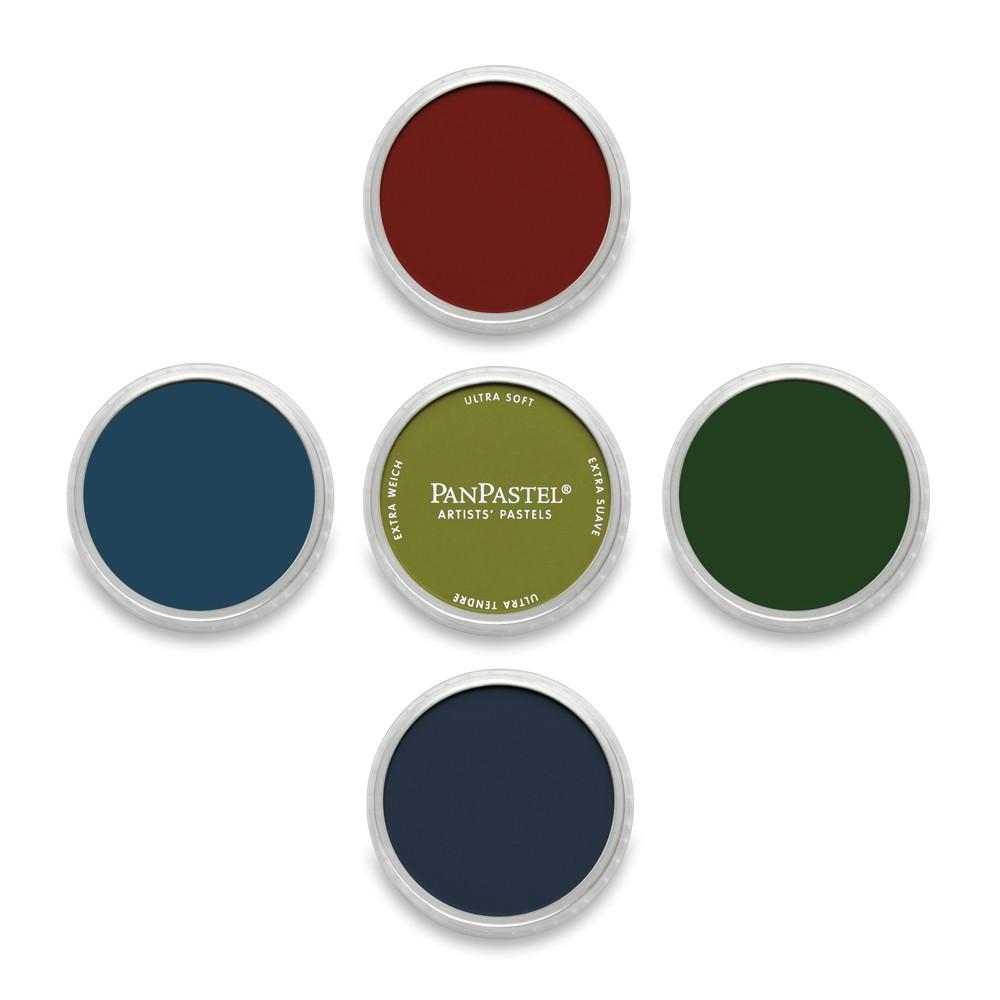 PanPastel : Set : Extra Dark Shades : 5 Colors
