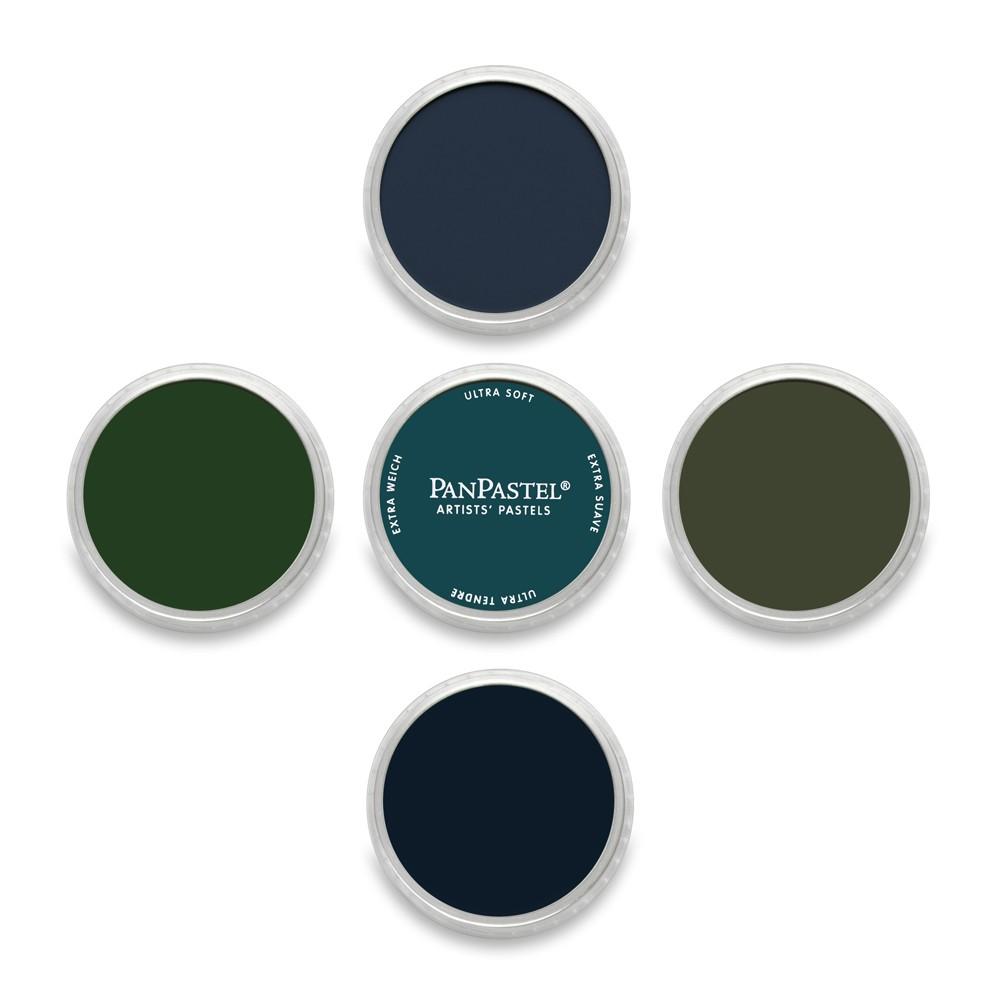 PanPastel : Set : Shadows : 5 Colors