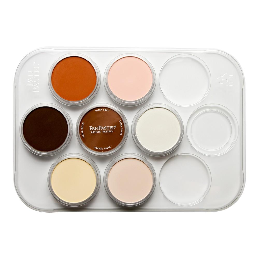 PanPastel : Skin Tones Palette : Set of 7 Colours : Plus Tools