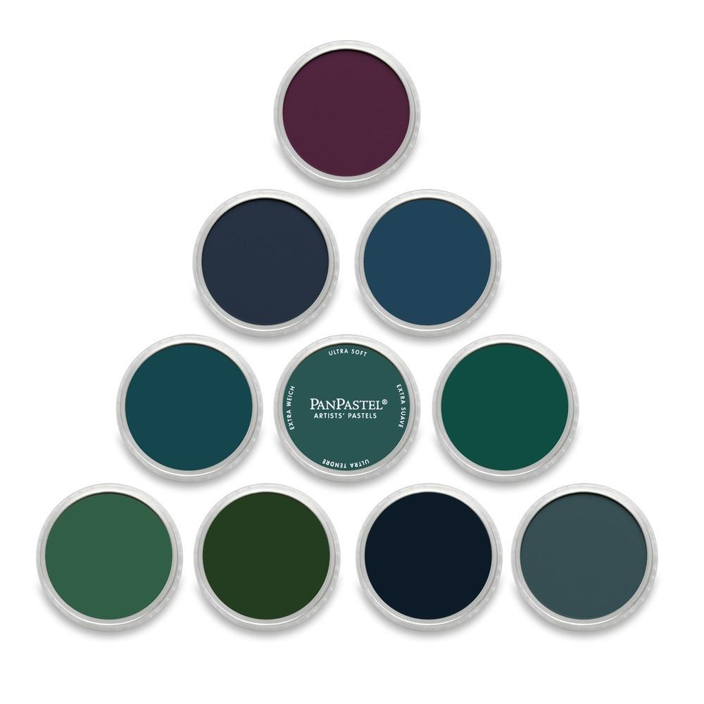 PanPastel : Set : Extra Dark Cool : 10 Colors
