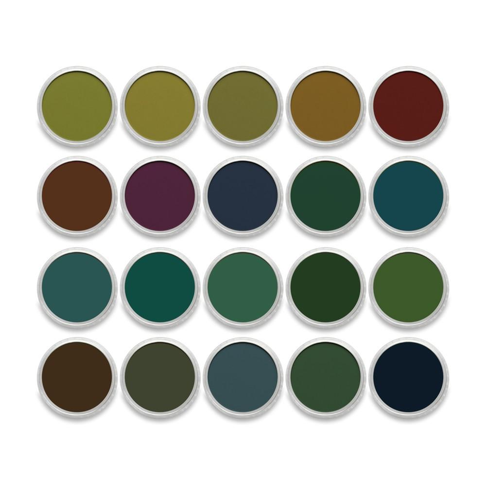 PanPastel : Set : Extra Dark Shades : 20 Colors