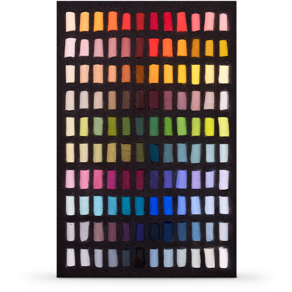 Unison : Soft Pastel : Set of 120 Half Sticks