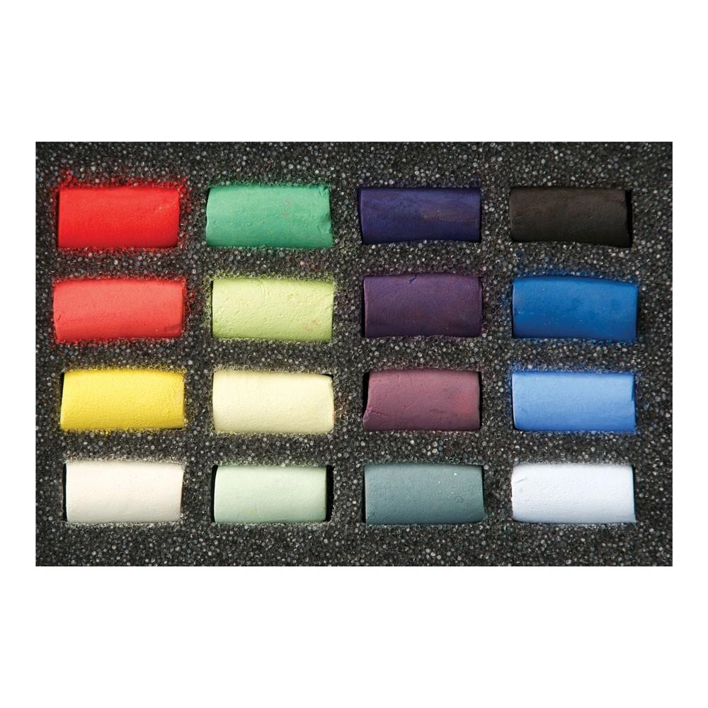 Unison : Soft Pastel : Set of 16 Half Sticks
