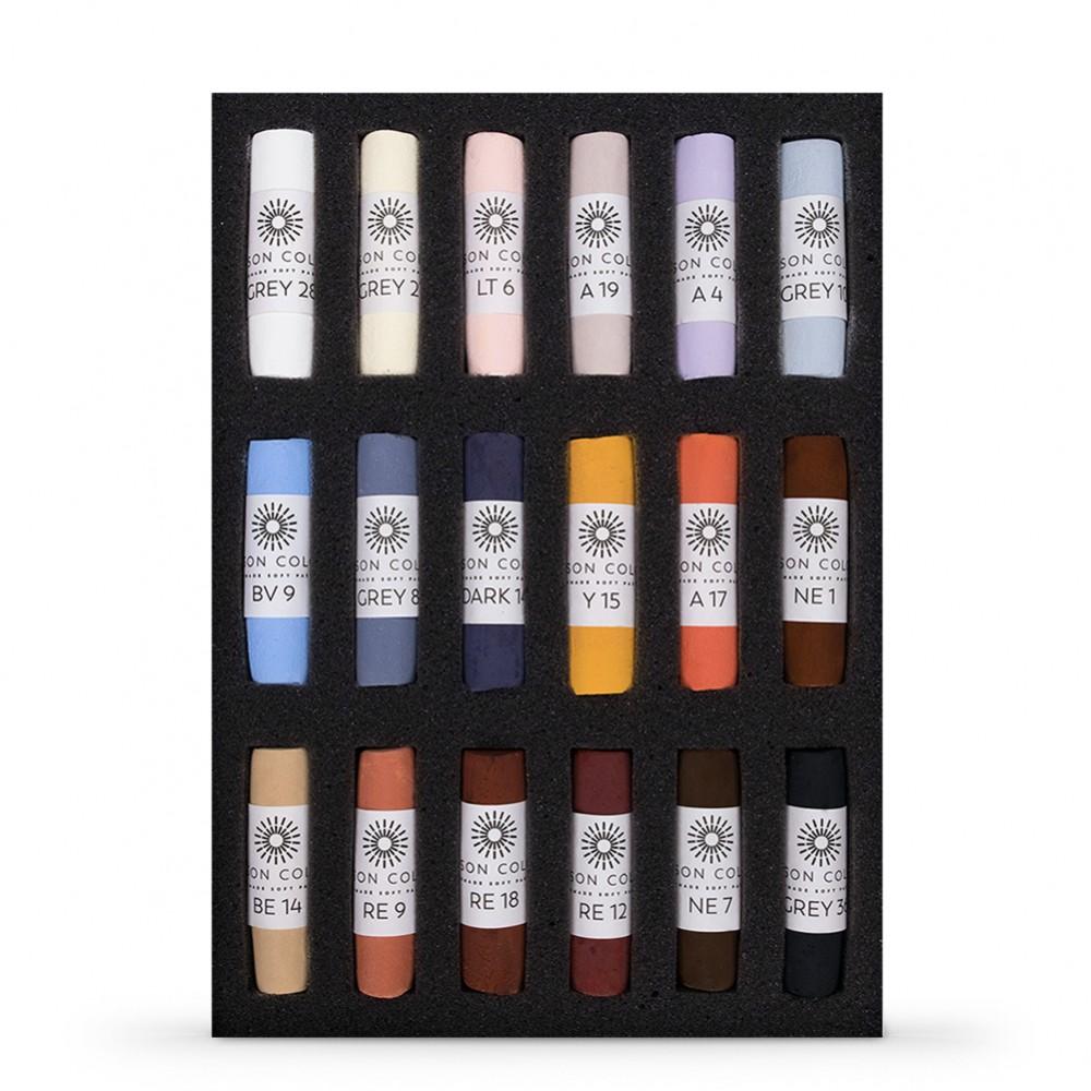 Unison : Soft Pastel : Set of 18 Emma Colbert Animal Collection