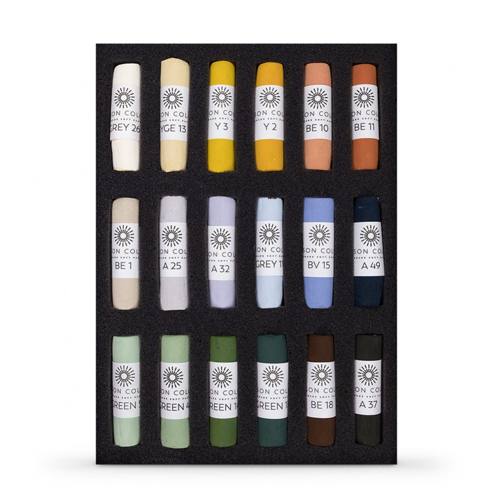 Unison : Soft Pastel : Set of 18 Landscape