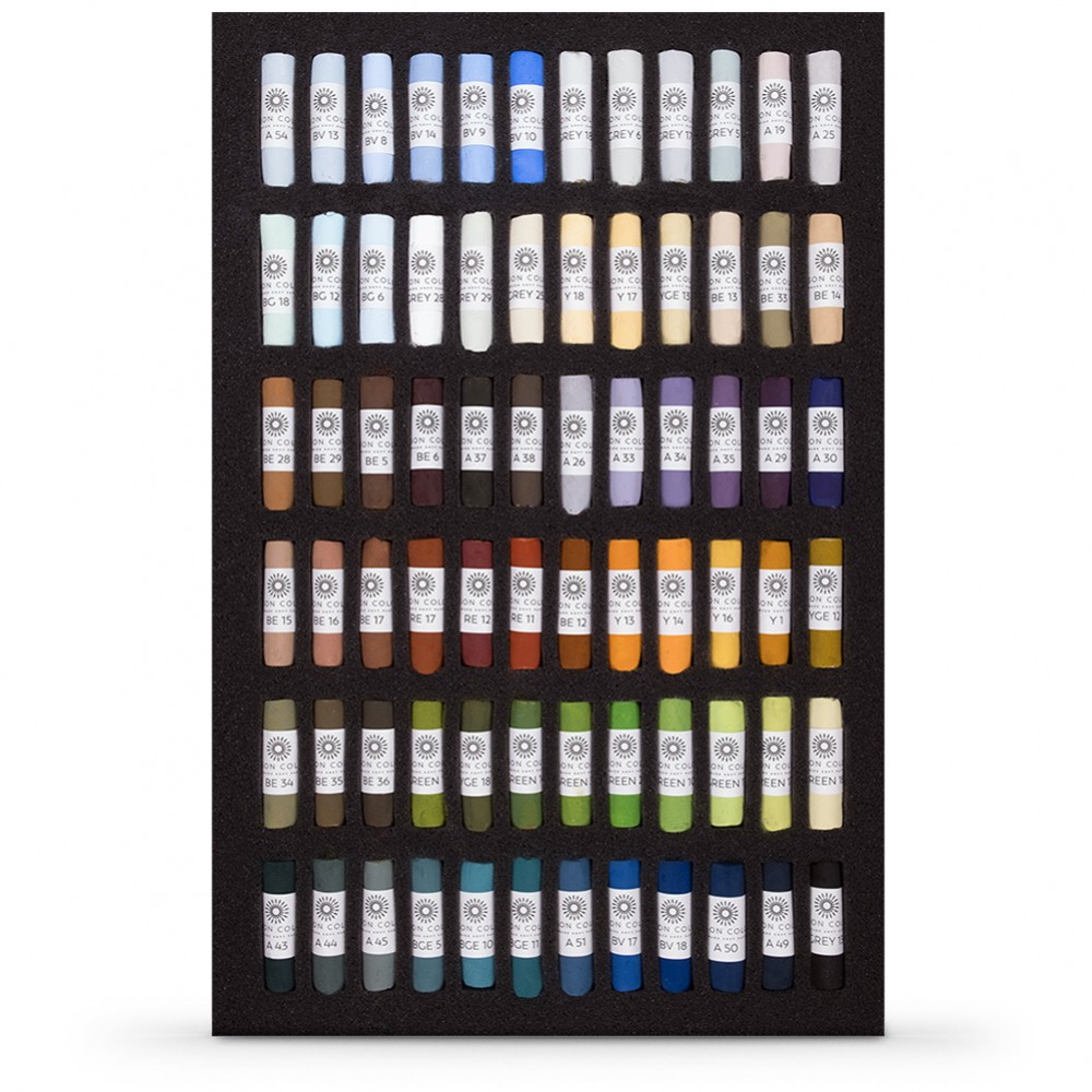 Unison : Soft Pastel : Landscape Set of 72 : With Presentation Box