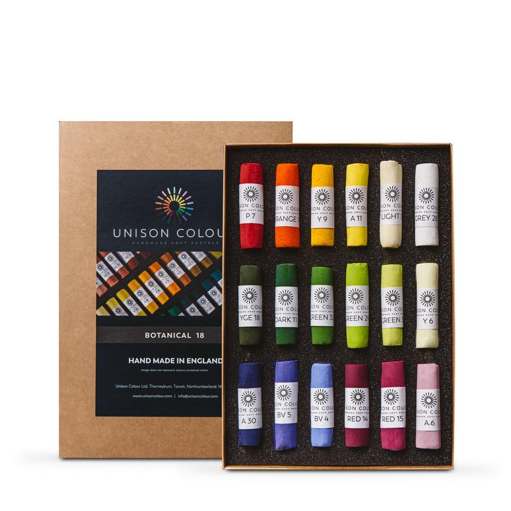 Unison : Soft Pastel : Set of 18 Botanical Colors