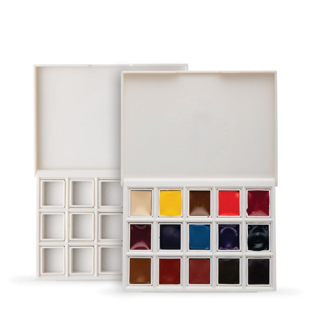 Daniel Smith : Watercolor Paint : Half Pan : Ultimate Mixing Set of 15