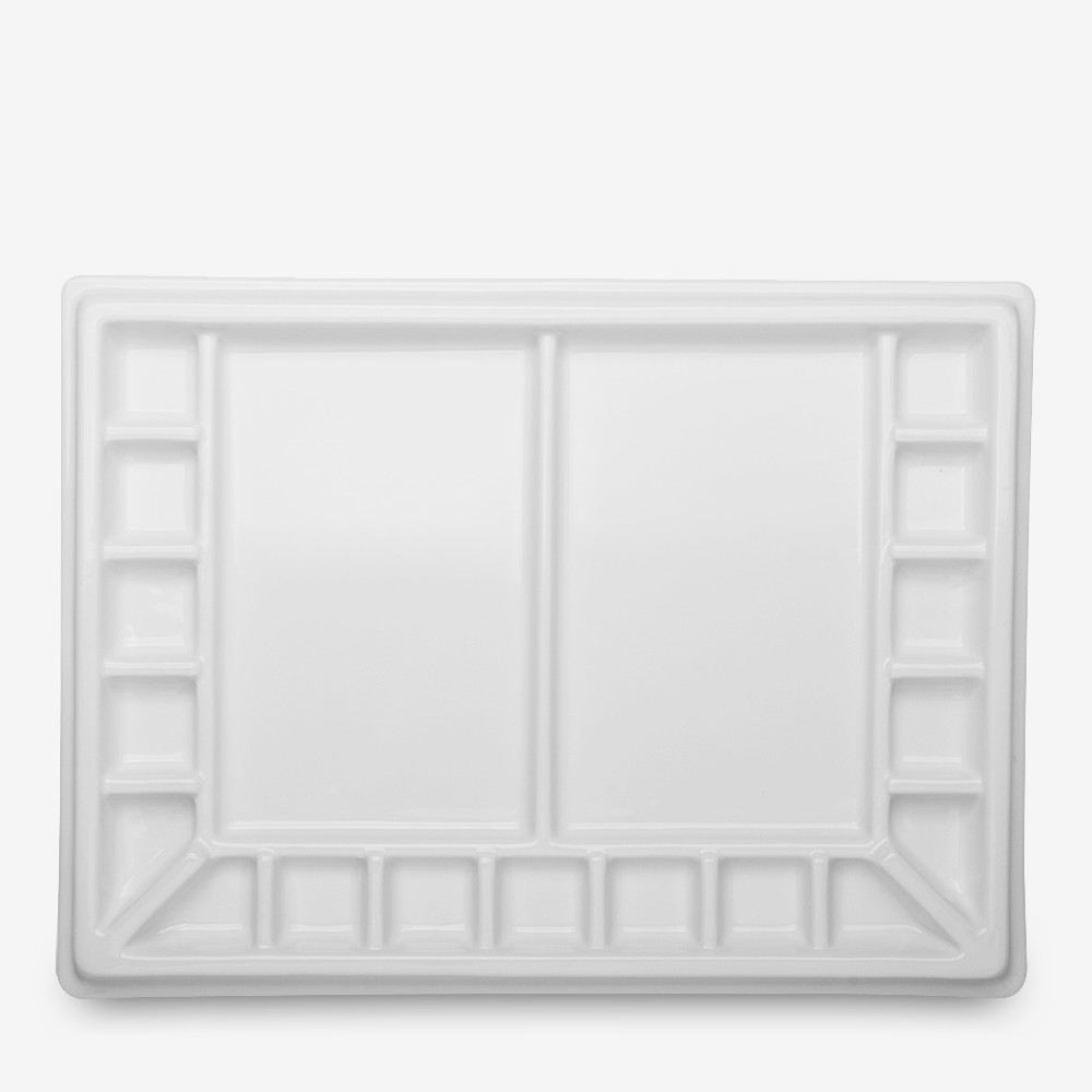 Jackson's : Porcelain Palette With Cover : 19 Well : 25x33x4cm