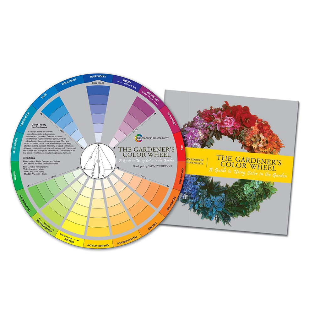 Color Wheel Company Gardener S Color Wheel With Booklet