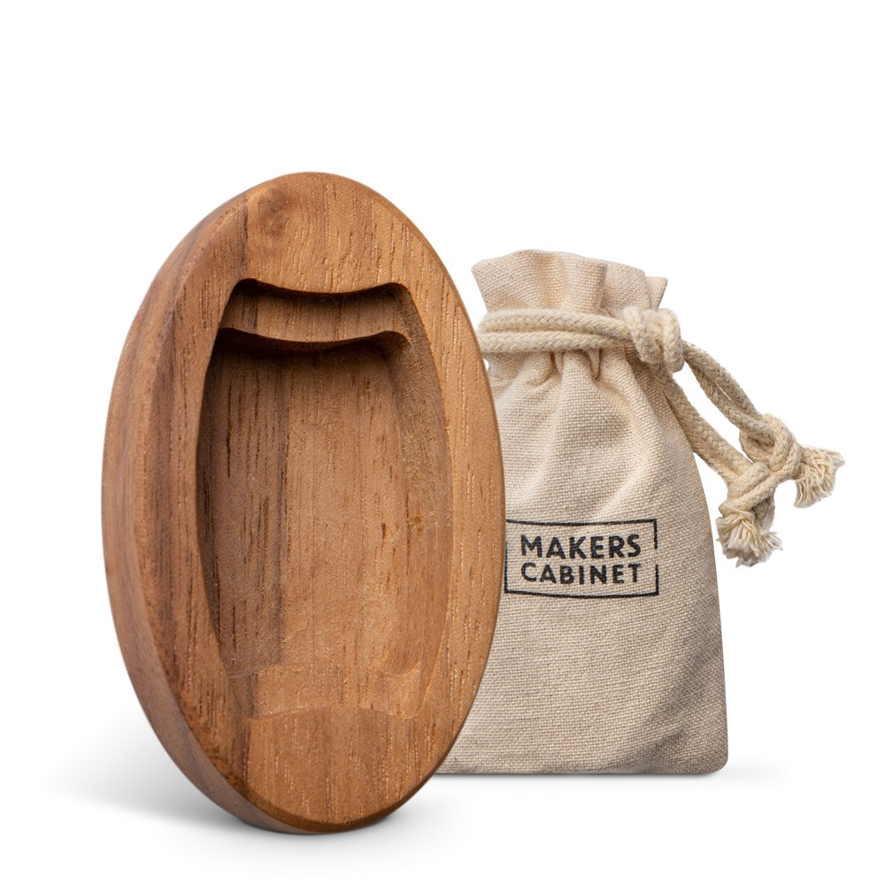 Makers Cabinet : Dark Walnut Base : For Brass Hovel
