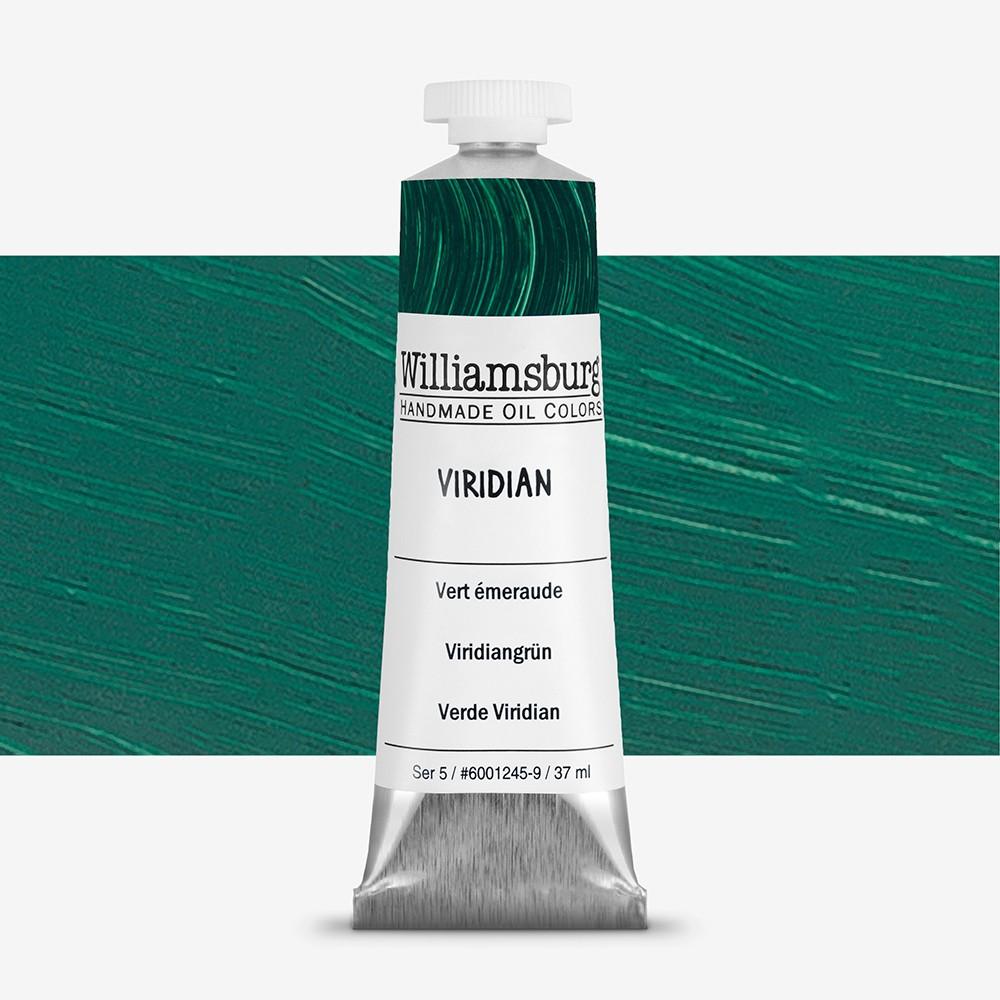 williamsburg oil paint 37ml viridian jackson s art supplies