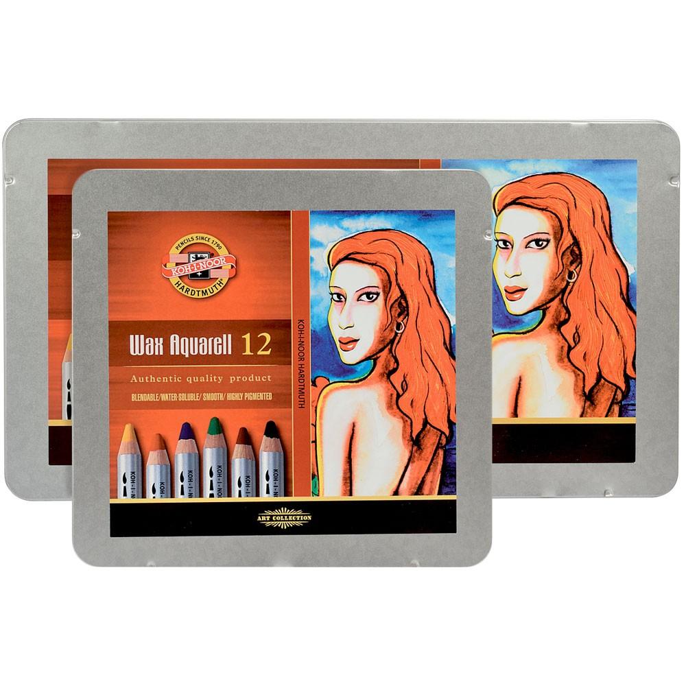 Koh-I-Noor : Wax Watercolor Pencils : Sets