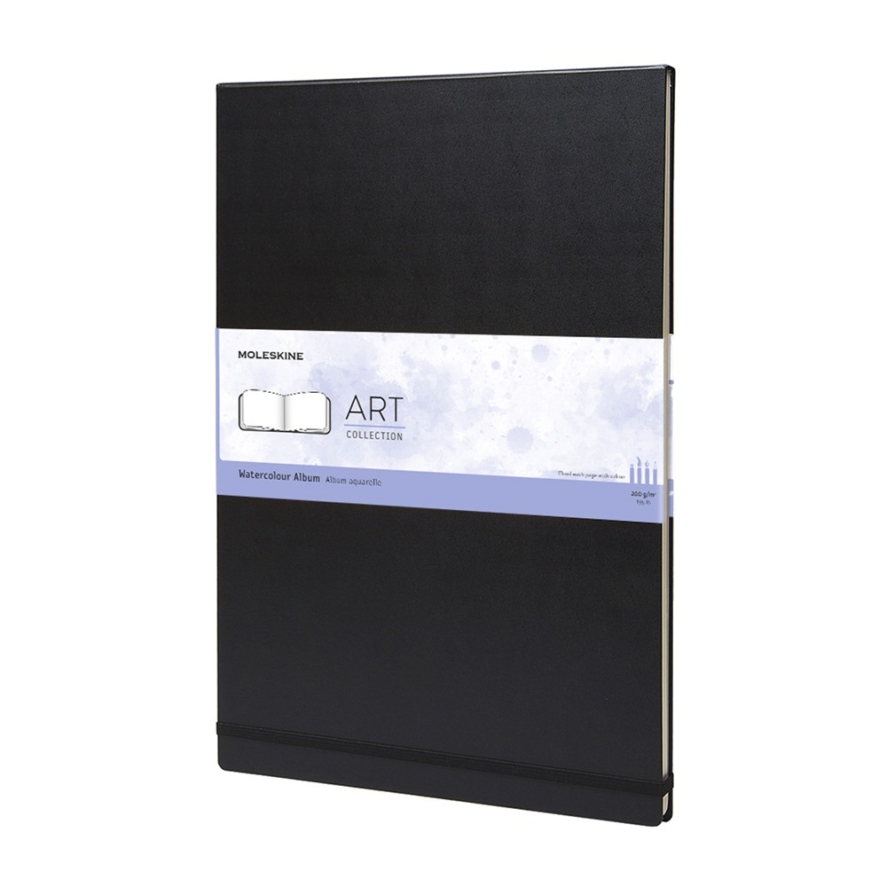 Moleskine Watercolor Album 200gsm Hard Cover 60 Pages A3 Black