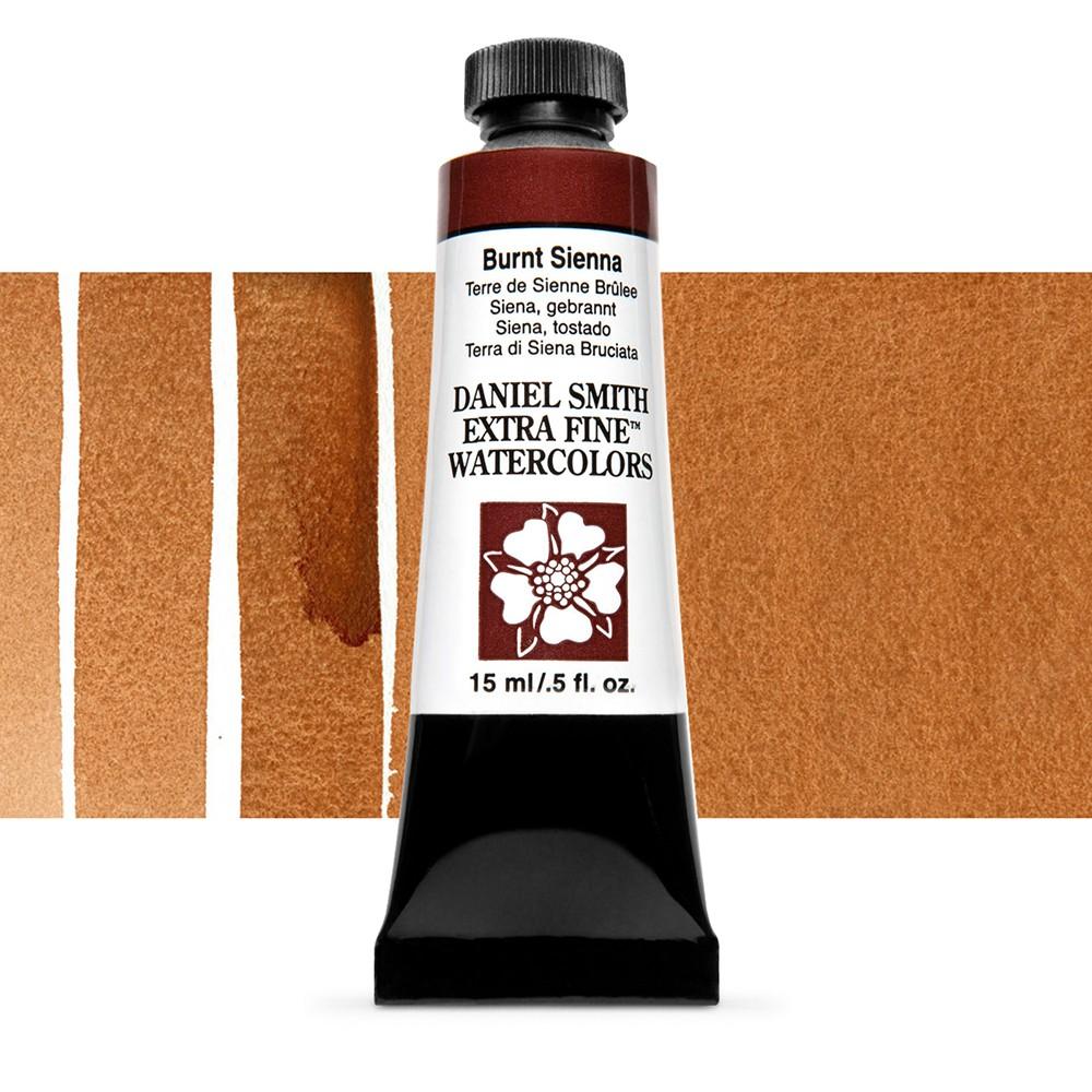 Daniel Smith : Watercolor Paint : 15ml : Burnt Sienna : Series 1