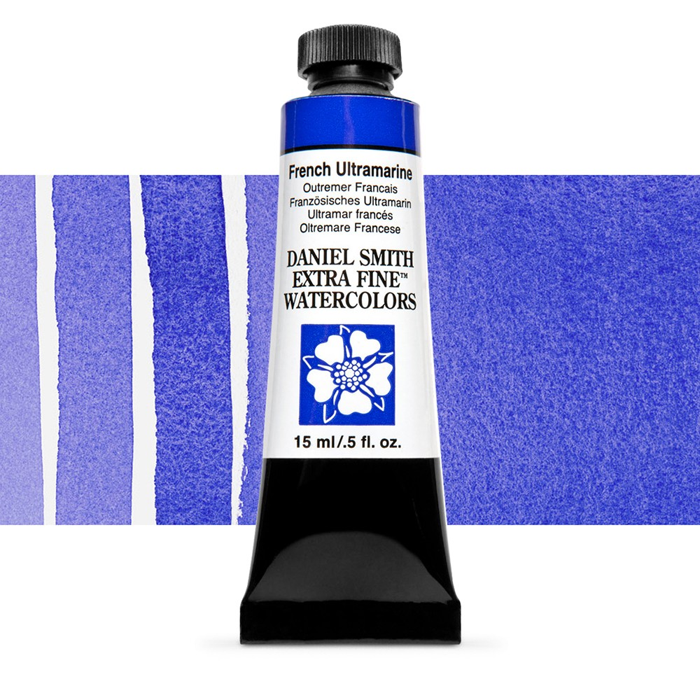 Daniel Smith : Watercolor Paint : 15ml : French Ultramarine : Series 2