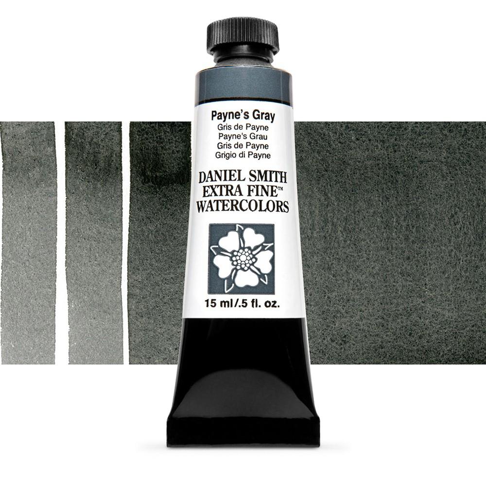 Daniel Smith : Watercolor Paint : 15ml : Paynes Gray : Series 1