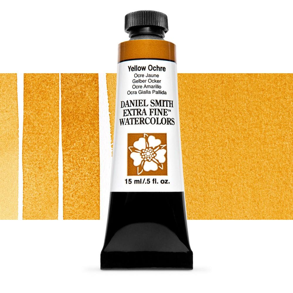 Daniel Smith : Watercolor Paint : 15ml : Yellow Ochre : Series 1