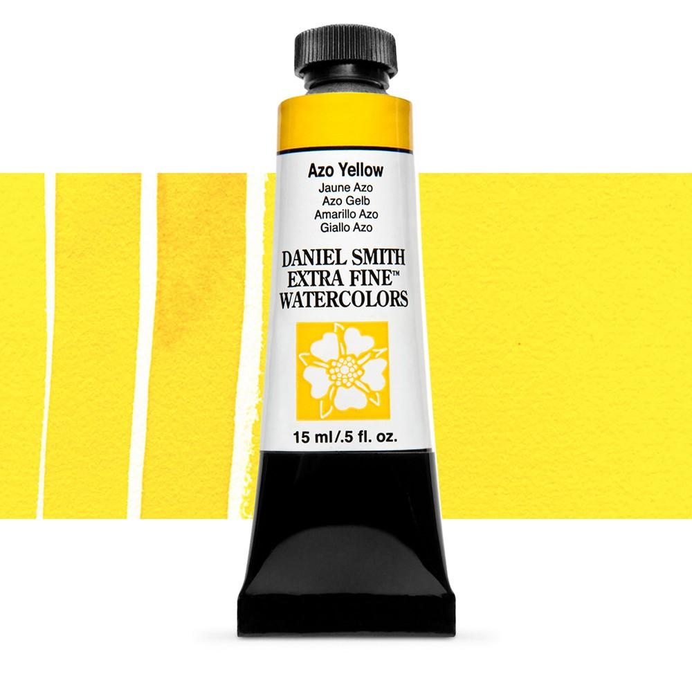 Daniel Smith : Watercolor Paint : 15ml : Azo Yellow : Series 3