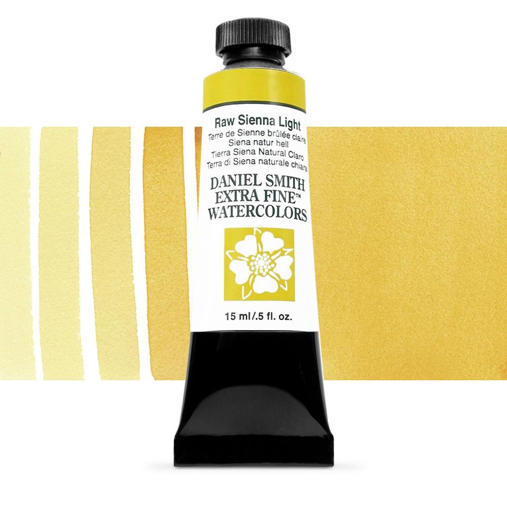 Daniel Smith : Watercolor Paint : 15ml : Raw Sienna Light : Series 1