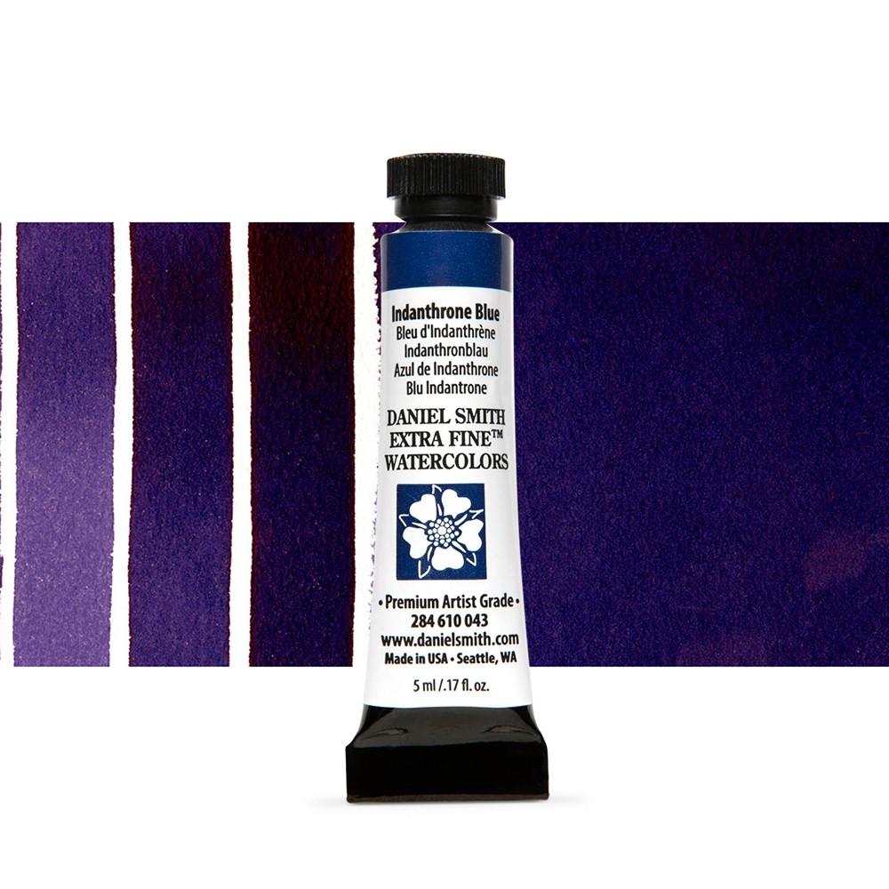 Daniel Smith : Watercolor Paint : 5ml : Indanthrone Blue