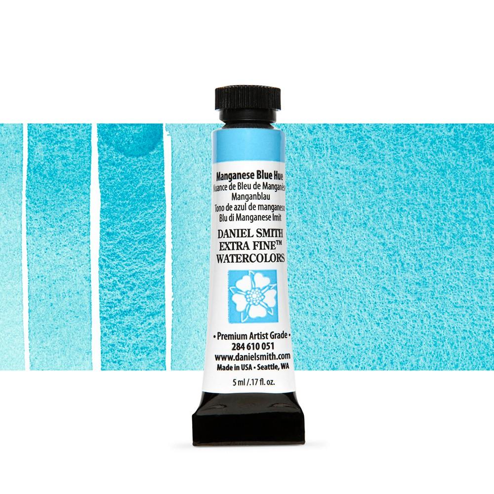 Daniel Smith : Watercolor Paint : 5ml : Manganese Blue Hue