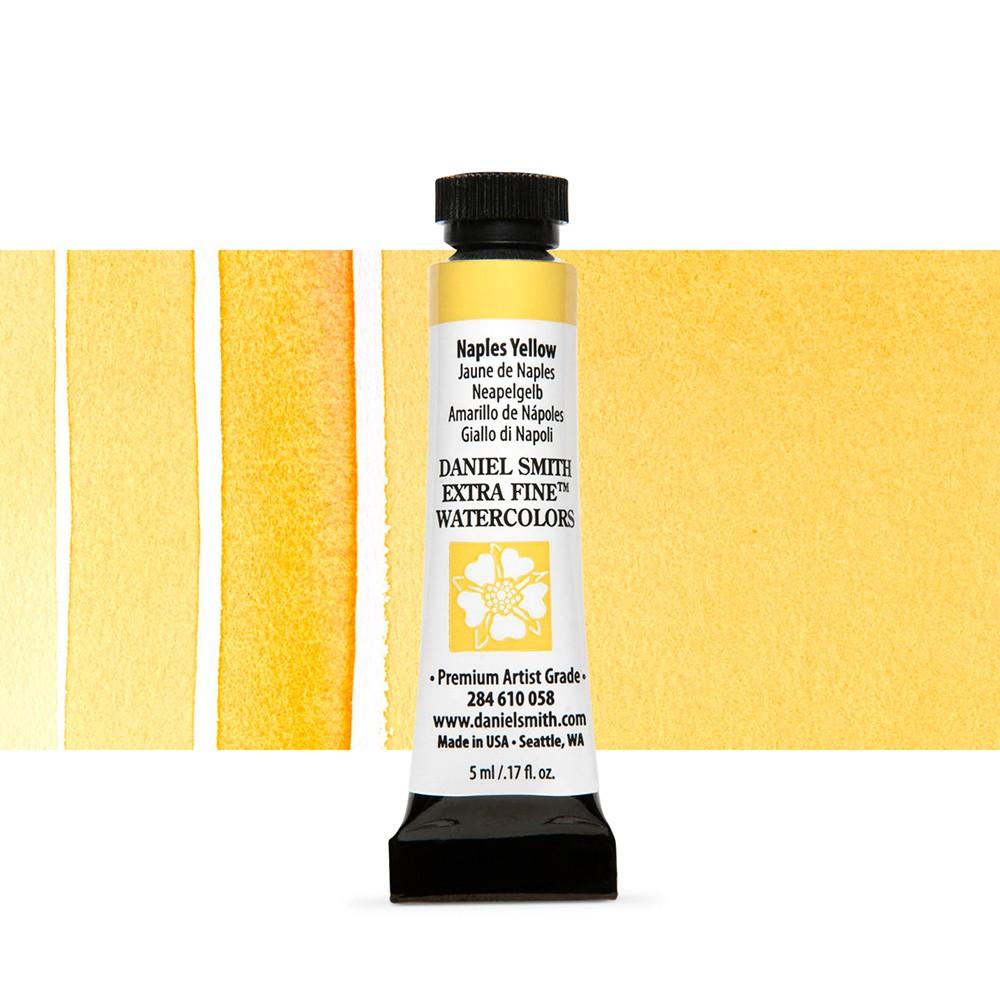 Daniel Smith : Watercolor Paint : 5ml : Naples Yellow