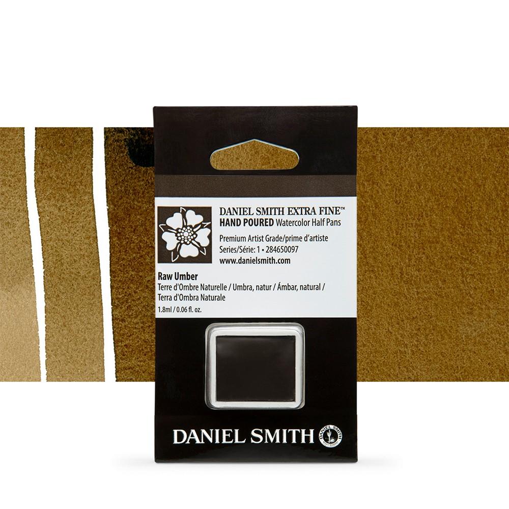 Daniel Smith : Watercolour Paint : Half Pan : Raw Umber : Series 1