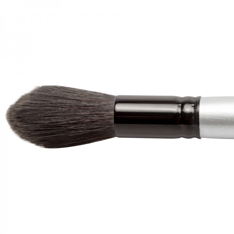 Silver Brush : Black Velvet : Squirrel & Risslon Brush : Series 3025S : Jumbo Round Wash : Size L