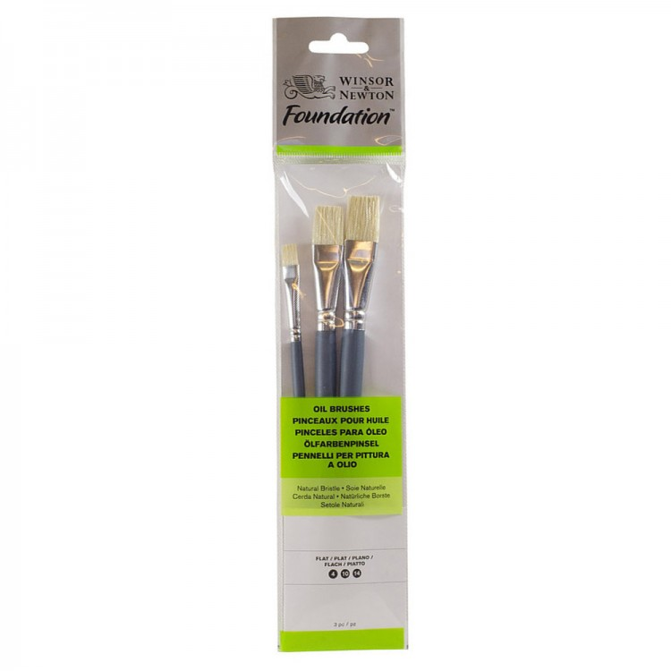 Winsor /& Newton Foundation Oil Brush Set 19