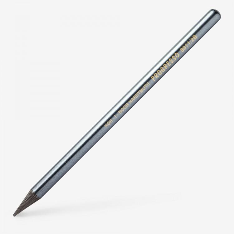 2B 6B 4B Koh-I-Noor Progresso Set Of 4 Woodless Graphite Pencils HB 8914