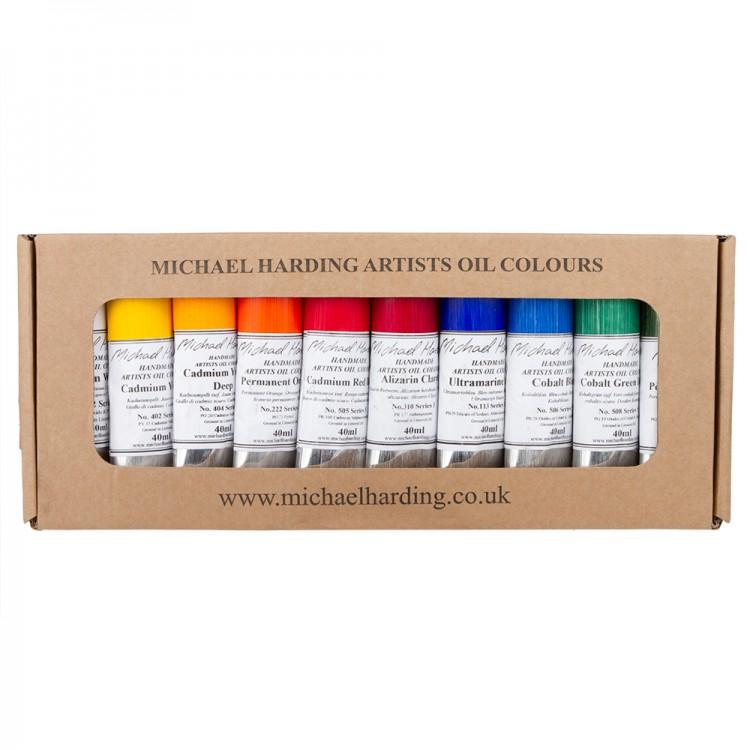 Michael Harding : Oil Paint : Plein Air : Master Set : 10x40ml