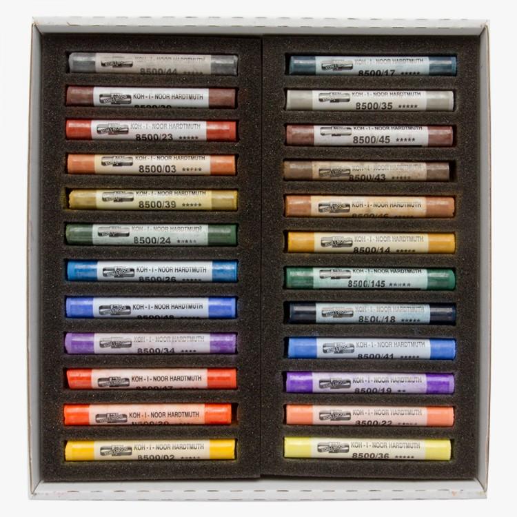Koh-I-Noor 48 Artists Soft Pastels Set