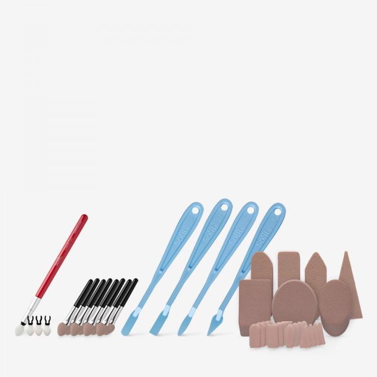 PanPastel : Sofft Tools Combination Set