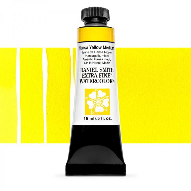 Daniel Smith : Watercolor Paint : 15ml : Hansa Yellow Medium : Series 2