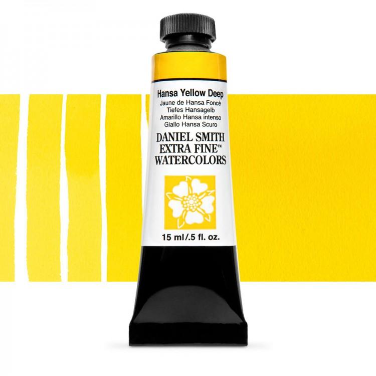 Daniel Smith : Watercolor Paint : 15ml : Hansa Yellow Deep : Series 1