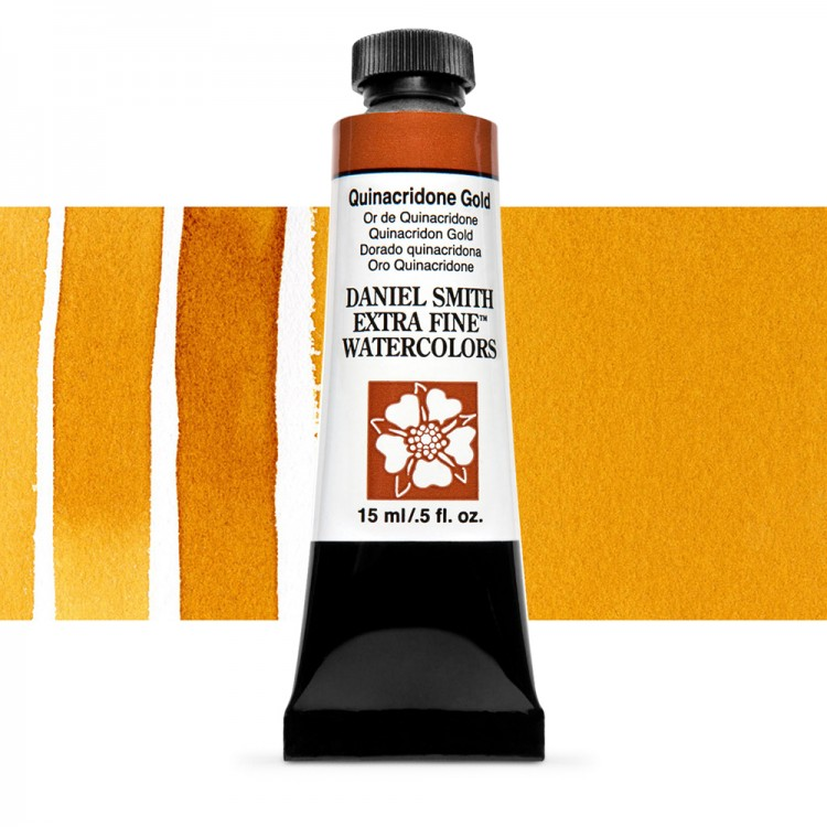 Daniel Smith : Watercolor Paint : 15ml : New Quinacridone Gold : Series 2