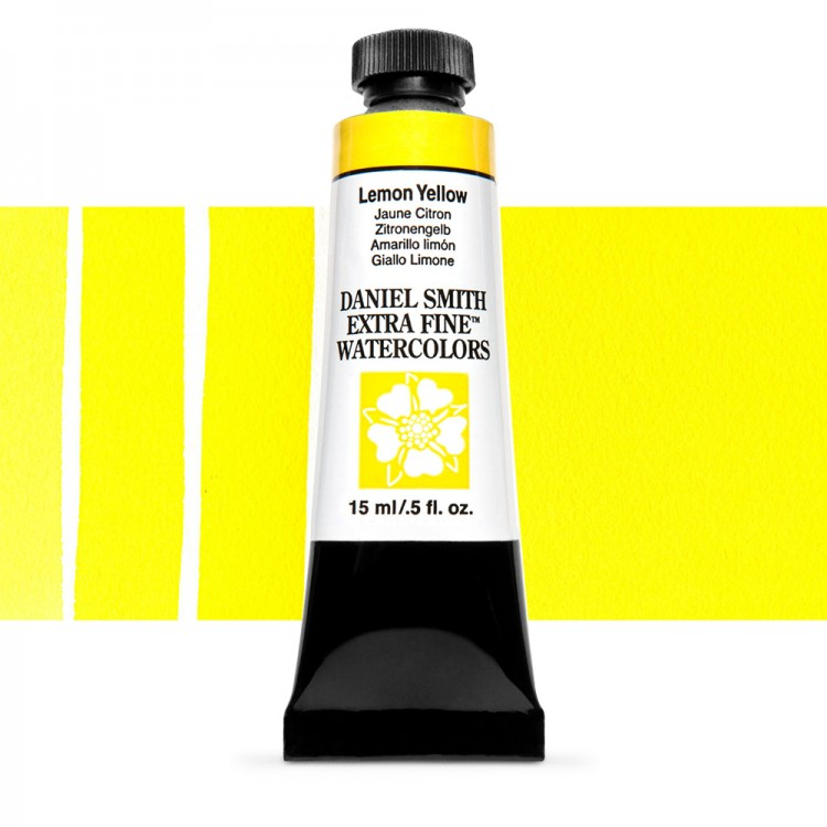 Daniel Smith : Watercolor Paint : 15ml : Lemon Yellow : Series 1