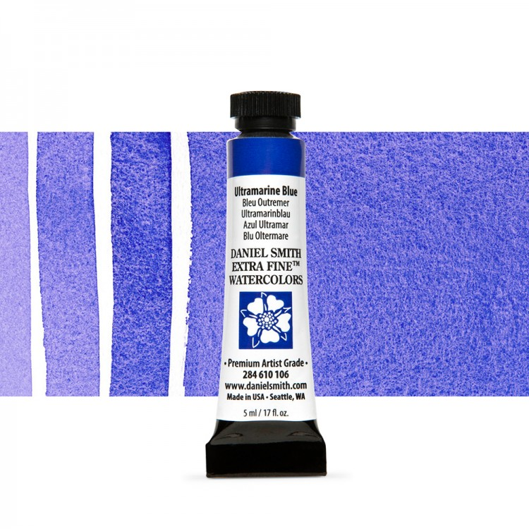 Daniel Smith : Watercolor Paint : 5ml : Ultramarine Blue