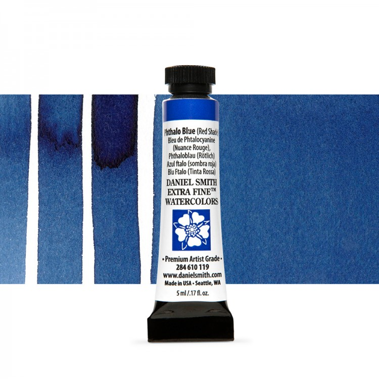 Daniel Smith : Watercolor Paint : 5ml : Phthalo Blue (Red Shade)