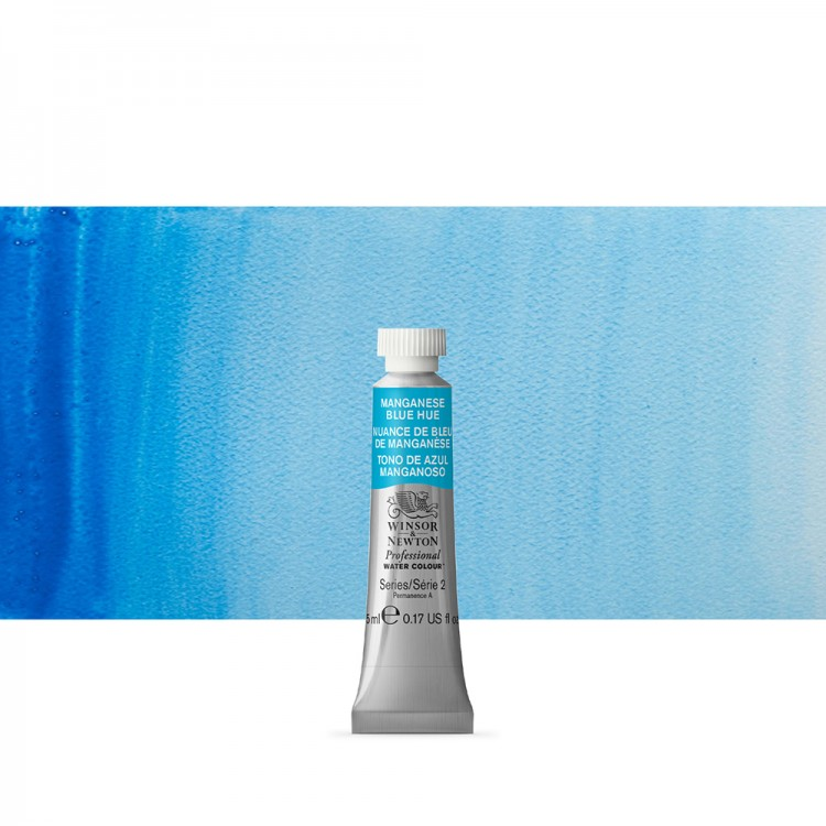Winsor & Newton : Professional Watercolor : 5ml : Manganese Blue Hue